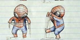 Spiderman se hace un lío