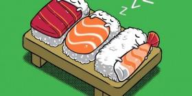 Sushi durmiente