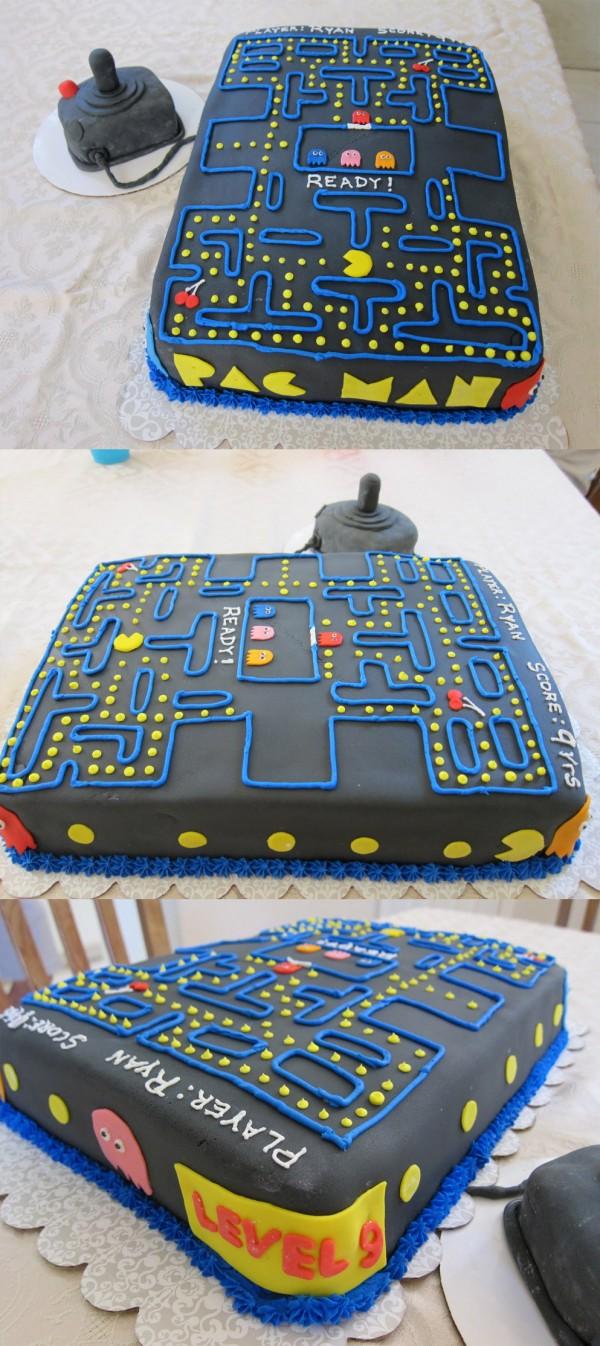Tartas originales: Pac-Man