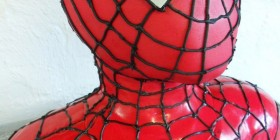 Tartas originales: Spiderman