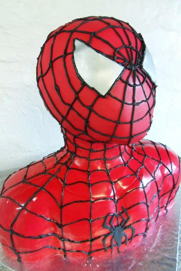 Tartas originales: Spiderman