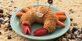 Un cangrejo dulce