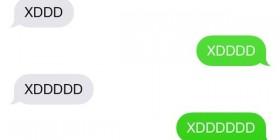 Una conversación en un smartphone cualquiera