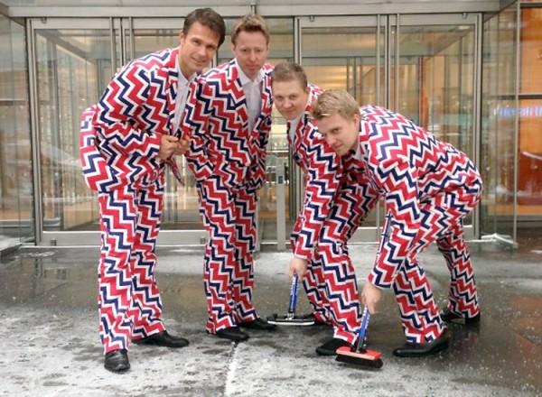 Uniforme olímpico de Noruega de curling