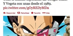 Vegeta con Google Glass
