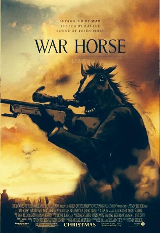 War Horse, cartel alternativo