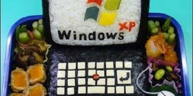 Windows XP de sushi