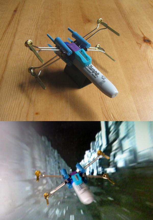 X-Wing de oficina