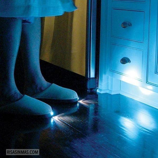 Zapatillas con linterna