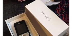 La broma del regalo del iPhone 5