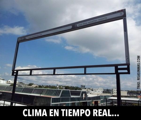 Clima en tiempo real