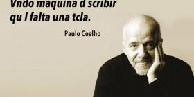 Coelho: vndo máquina d scribir
