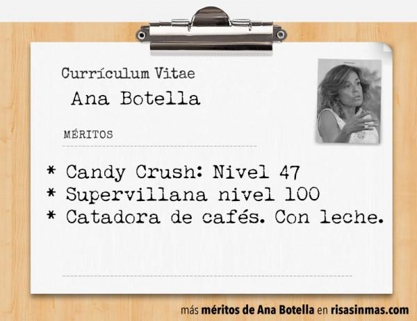 Currículum de Ana Botella: página 1