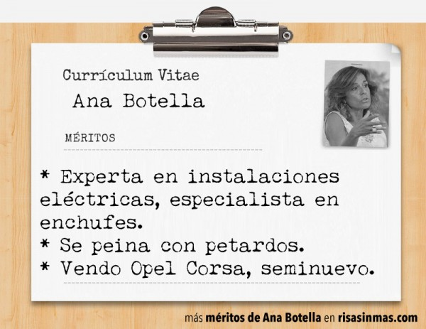 Currículum de Ana Botella: página 5