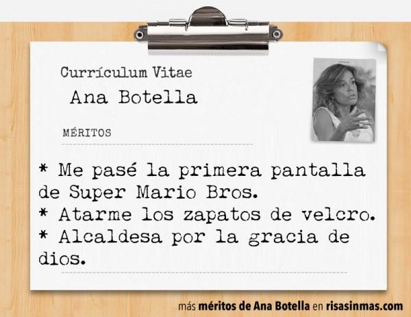 Currículum de Ana Botella: página 6