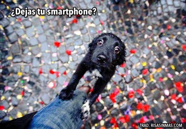 ¿Dejas tu smartphone?