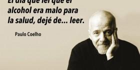 Paulo Coelho: el alcohol es malo para la salud