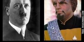 Hitler y el teniente Worf