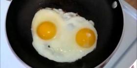 Huevos fritos rapeando