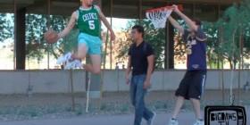 La broma del baloncesto