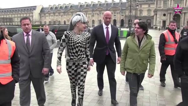 Lady Gaga en París