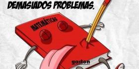 El cuaderno de matemáticas se ha suicidado