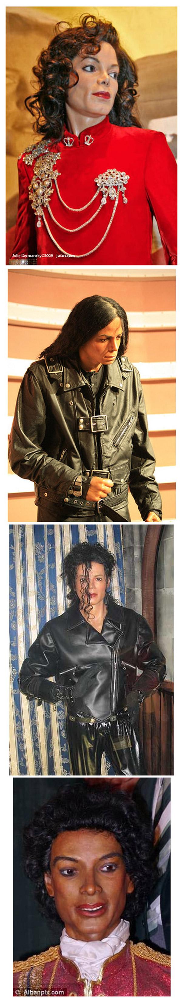 Las peores figuras de cera de Michael Jackson