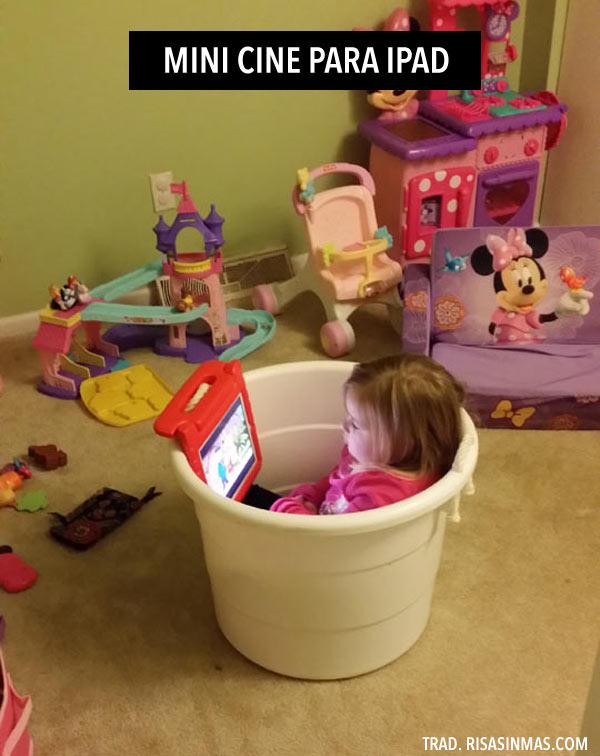 Mini cine para iPad