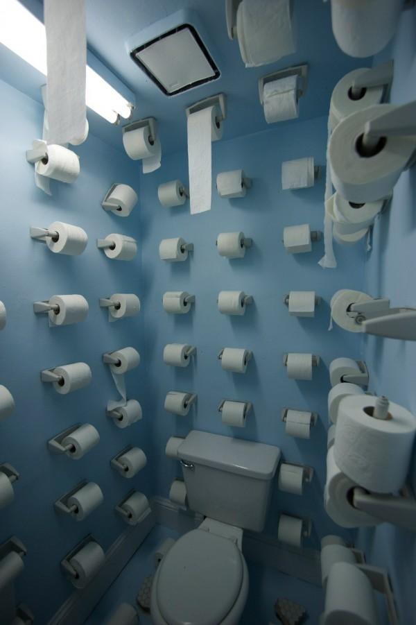 Nunca más me faltará el papel higiénico