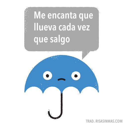 Me encanta que llueva