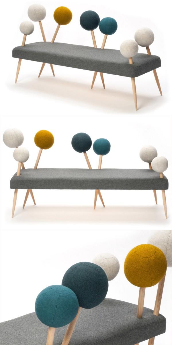 Pinsofa, un sofá original y divertido