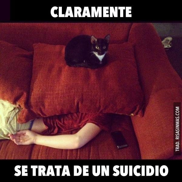 Se trata de un suicidio