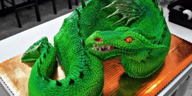 Tarta dragón