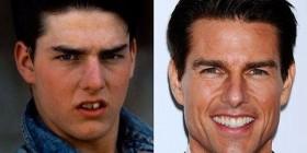 Tom Cruise antes y después de tener dinero