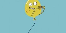 Un globo adolescente