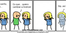 Cambiar a Android