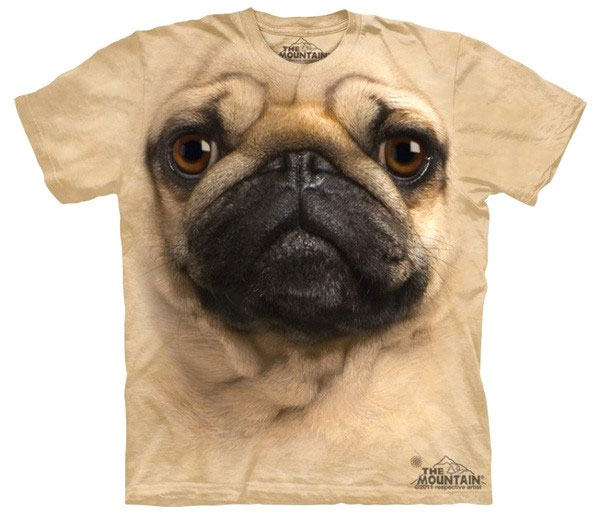 Camiseta Pug (Carlino)