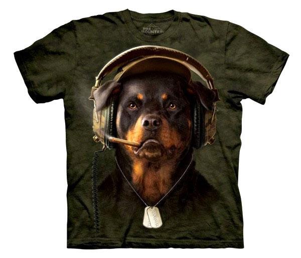 Camiseta Rottweiler Dj