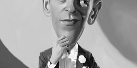 Caricatura de Fred Astaire