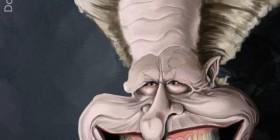 Caricatura de Gary Oldman como Drácula