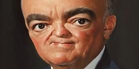 Caricatura de John Edgar Hoover