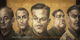 Caricatura de The Monuments Men