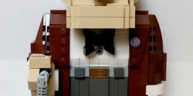 Carl Fredricksen hecho con LEGO