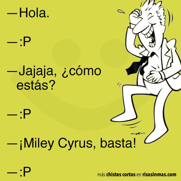 Chistes cortos: Miley Cyrus
