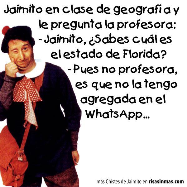 Chistes de Jaimito: Clase de geografía