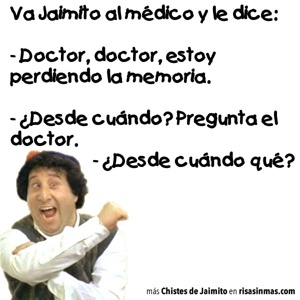 Chistes de Jaimito: En el medico