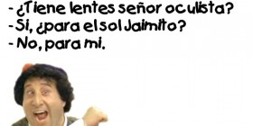 Chistes de Jaimito: En la óptica