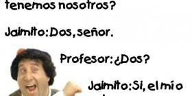 Chistes de Jaimito: Lección de anatomía