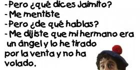 Chistes de Jaimito: Mamá mentiste