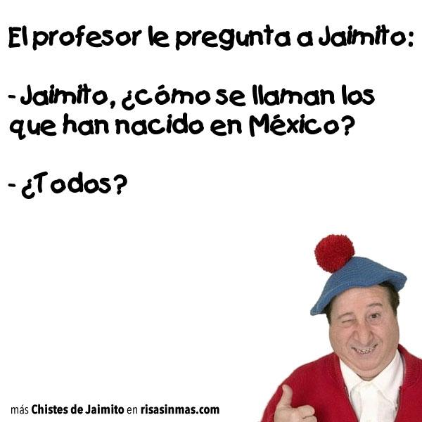 Chistes de Jaimito: México